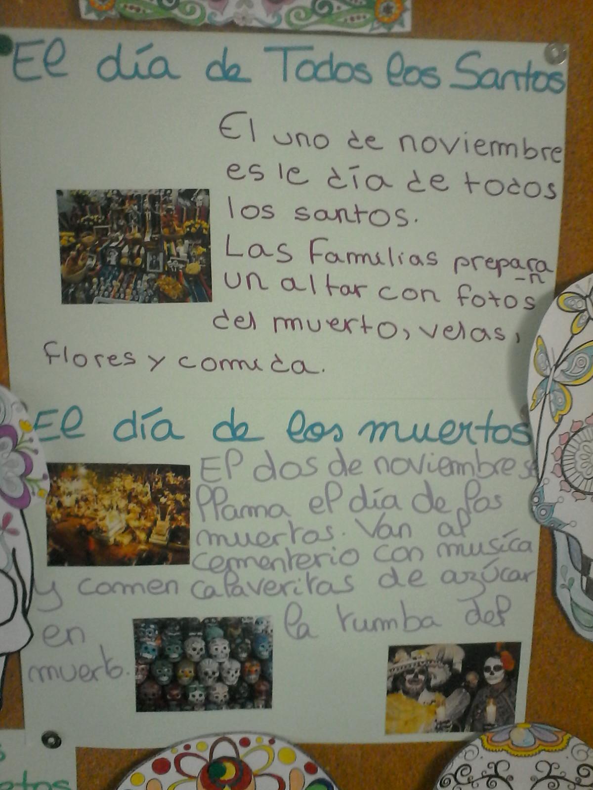 el dia de los muertos en espagnol